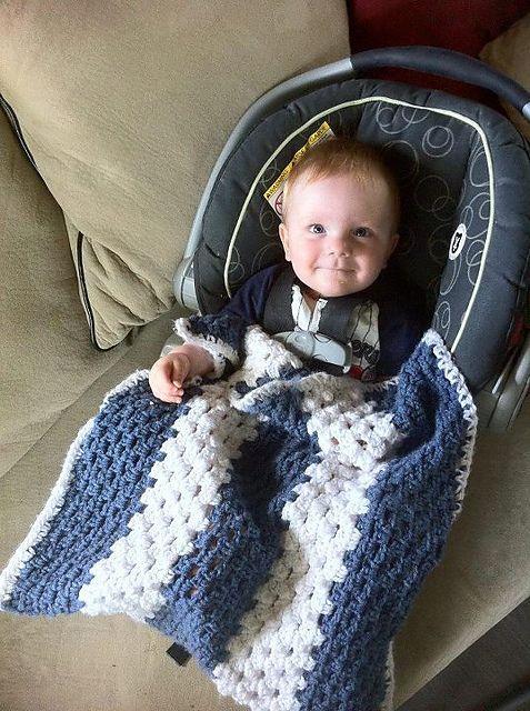 1 2 Car Seat Snuggie Pattern By Jan Bell Baby Afghan