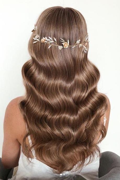 Photo of 25 wunderschöne Hochzeitsfrisuren für langes Haar