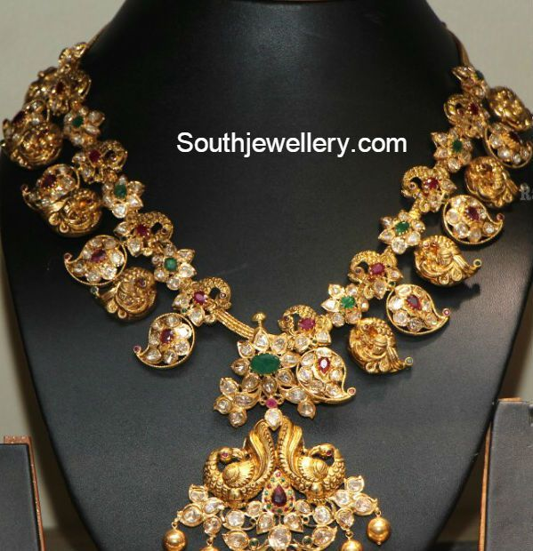 Uncut Diamond Necklace latest jewelry designs Page 8 of 40
