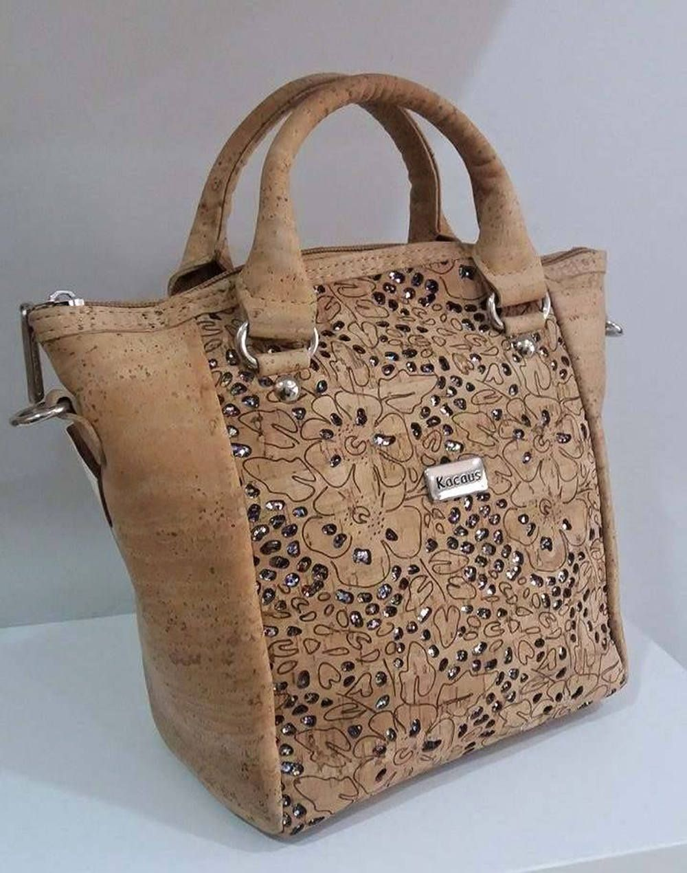 b87891c66f9c Cork Handbag - Fine Leather Cork Bag - Natural Cork Purse Eco-friendly  material by Alemishop on Etsy