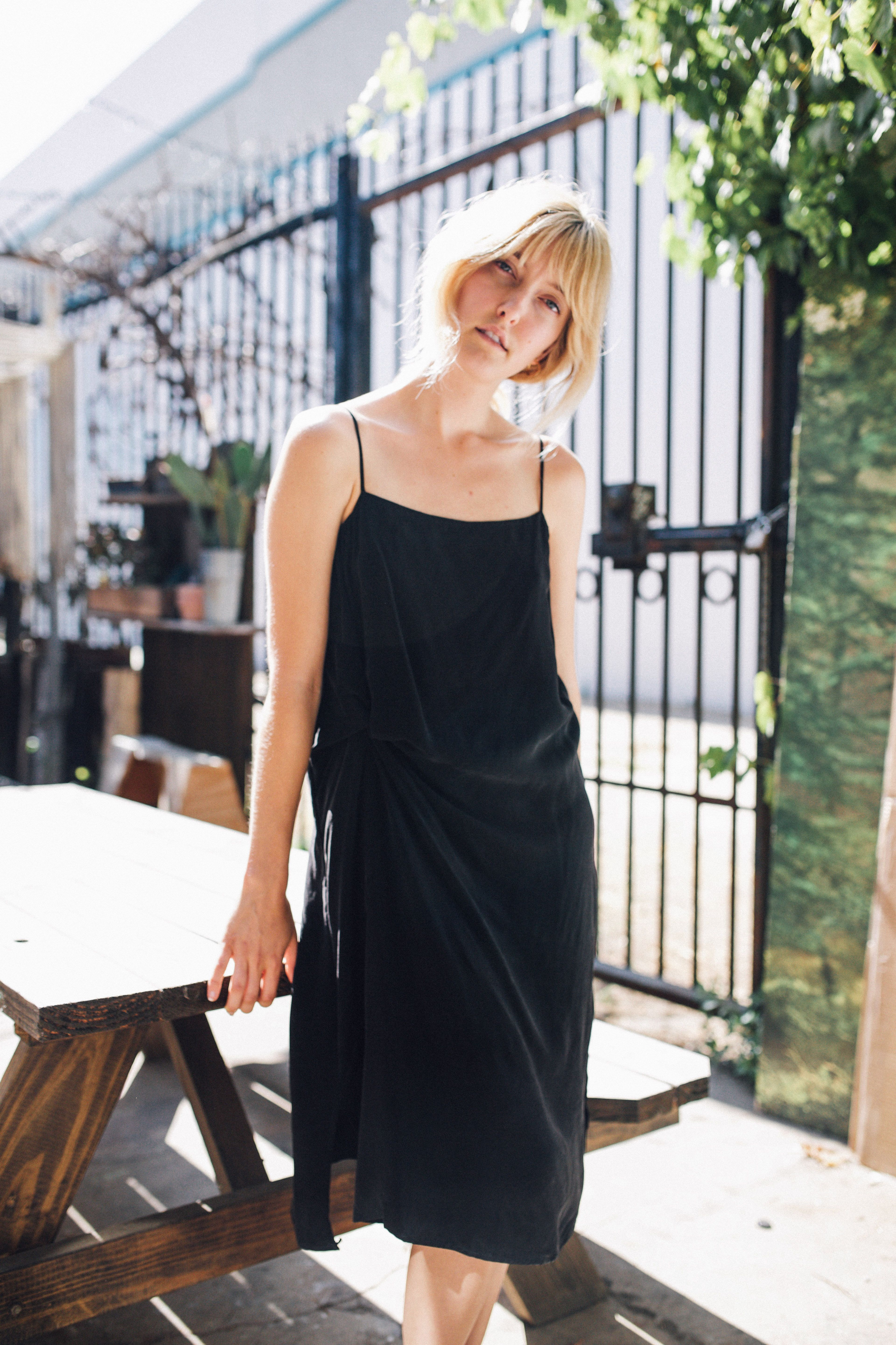 Black dress meaning - Twist Lounge Dress Black Objects Without Meaning