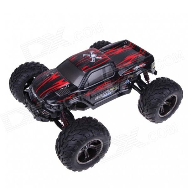 High Speed Rc Monster Truck Toy Red Black