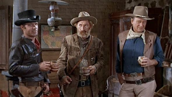 "John Wayne  in  /""EL DORADO/""  8x10 B /& W Reprint Photo JW-31"