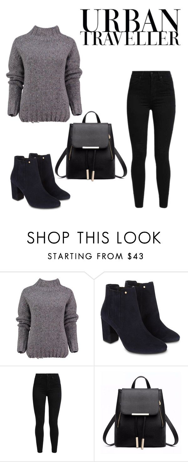"""Urban"" by iidapeppiina ❤ liked on Polyvore featuring Lowie, Monsoon and Levi's"