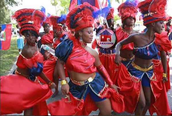 Dancing With Haitians At La Fete De >> Haitian Carnival Women Haitian Traditional In 2019 Carnival