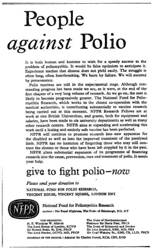 polio research paper