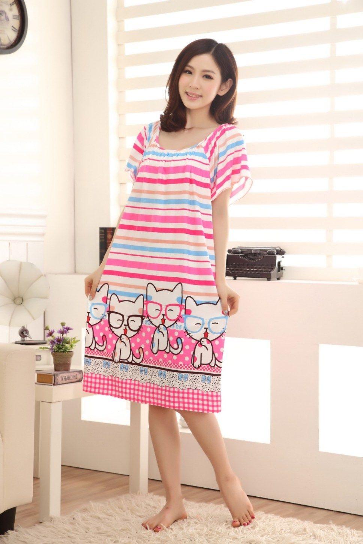 b1625bea01 Silk Sleepshirt Summer Dress. Silk Sleepshirt Summer Dress Nightgowns For  Women, Sleep ...