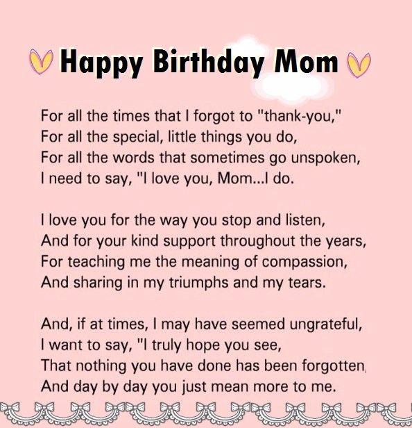 Happy Birthday Mom Quotes Fair Pinkara Nemeth On Hmm  Pinterest  Boyfriend Quotes Quote Life
