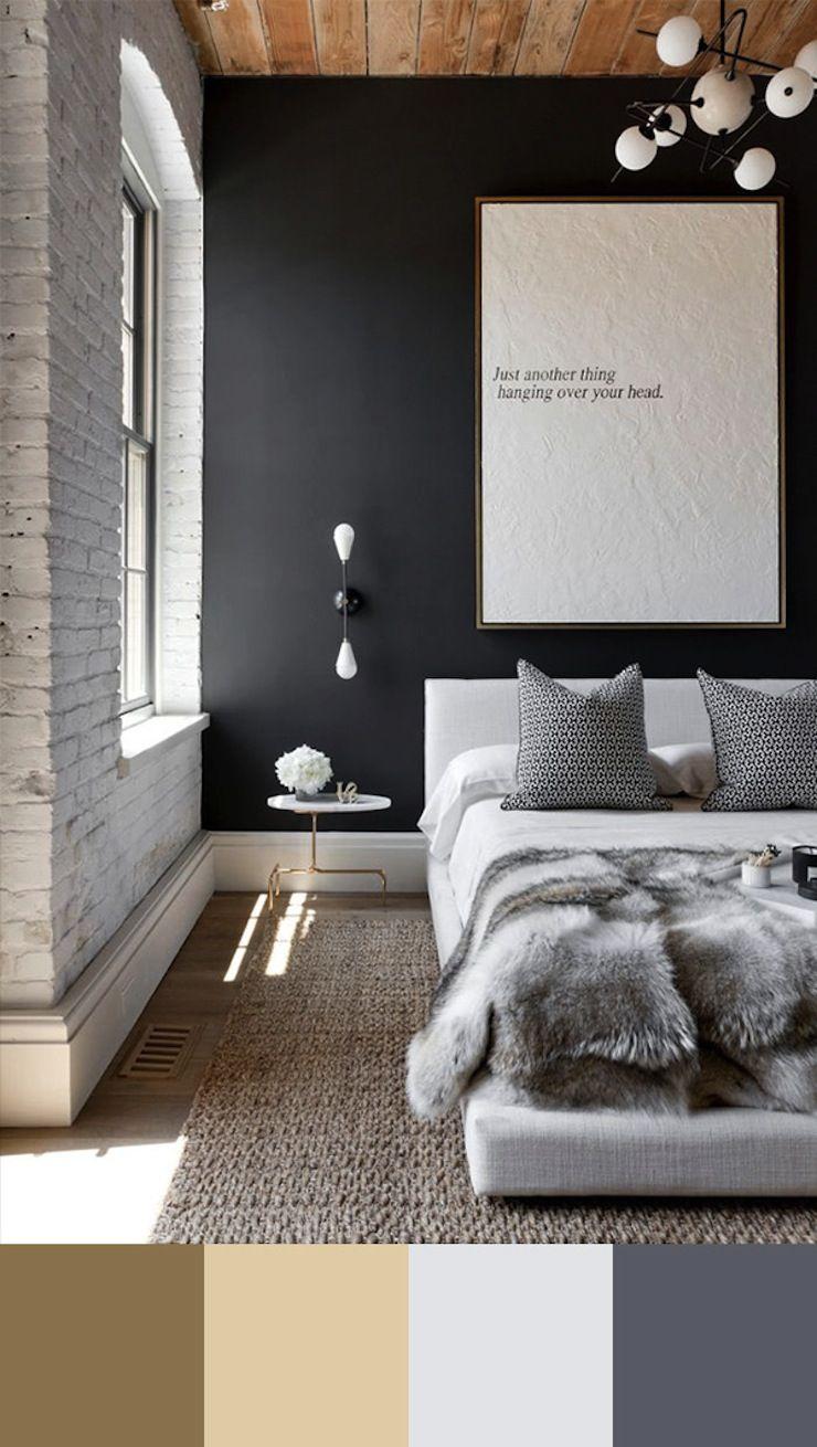 Quarto de casal: 10 esquemas de cores perfeitos para decorar | Decoração pra Casa