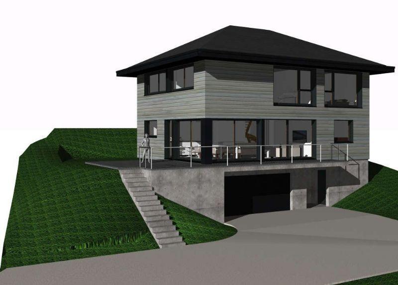 Charpenterie de lu0027ours  maison ossature bois 74, maison écologique