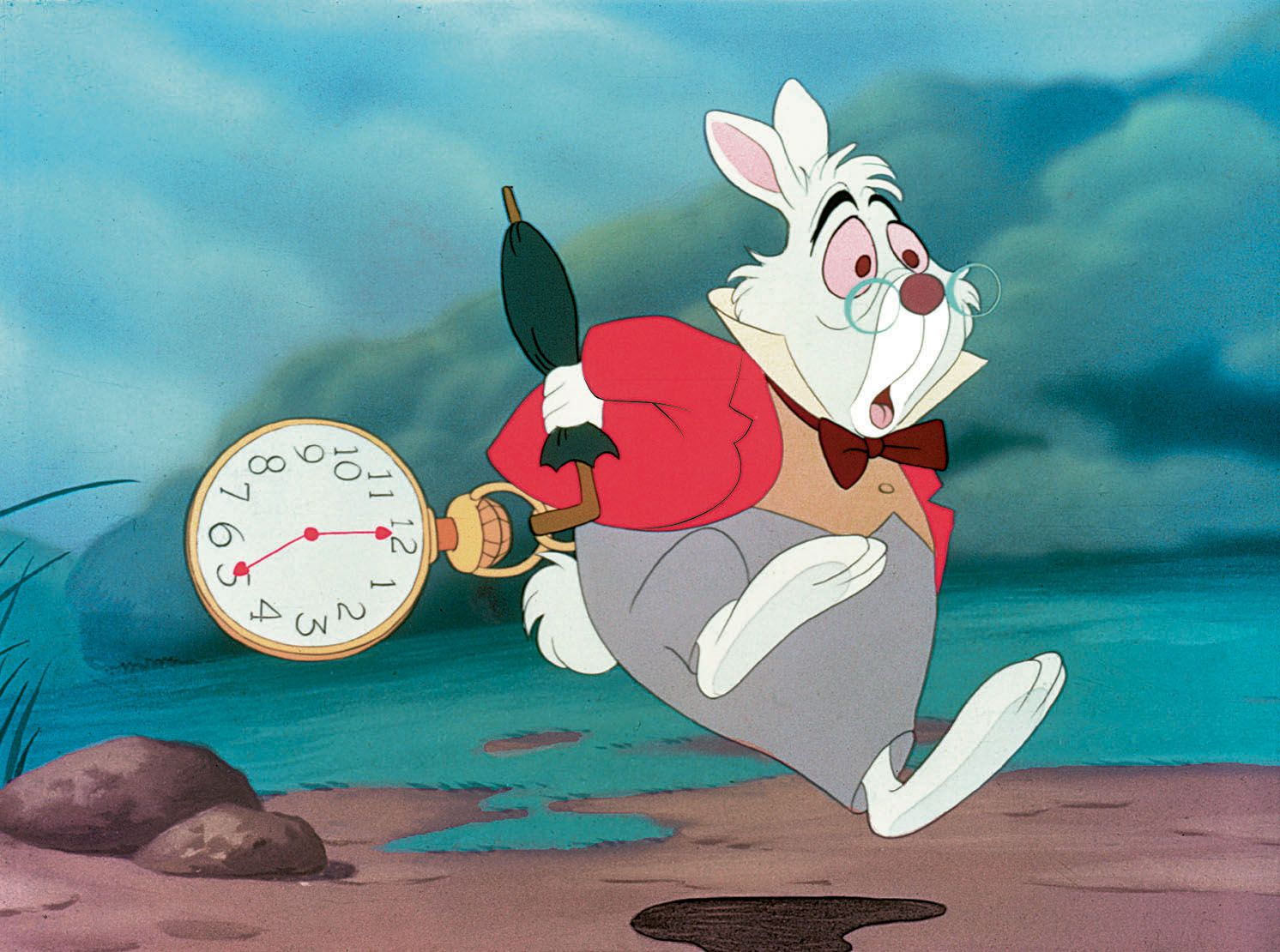 in a hurry | in a hurry | Pinterest | White rabbits