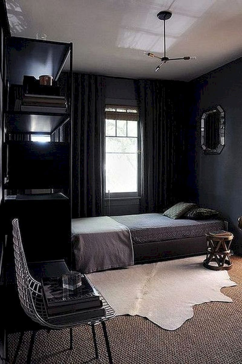 60 Masculin Small Bedroom Design For Men With Images Cozy