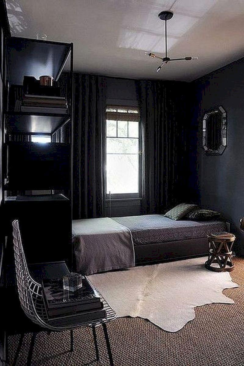 Stunning 60 Masculin Small Bedroom Design For Men Https De Corr Com 2019 04 26 60 Masculin Small Bedr Cozy Small Bedrooms Mens Bedroom Decor Bedroom Interior