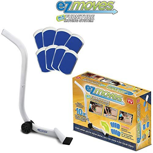 Ez Moves Furniture Moving Pads System Lifter Tool Sliders As Seen On Tv Furniture Sliders