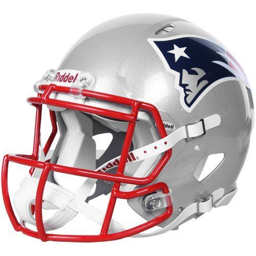 31deccb9 NFL New England Patriots Speed Authentic Football Helmet by Riddell ...