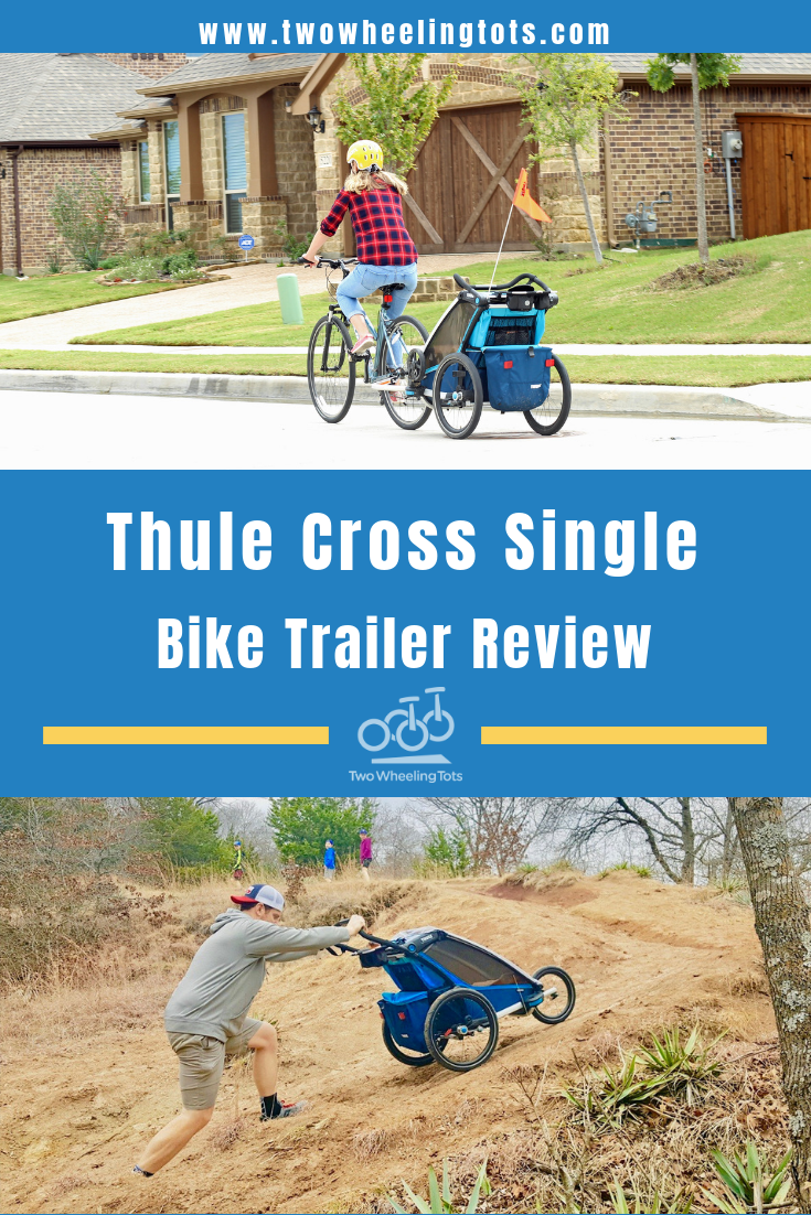 Thule Chariot Cross Review Why It's the BEST Bike Trailer