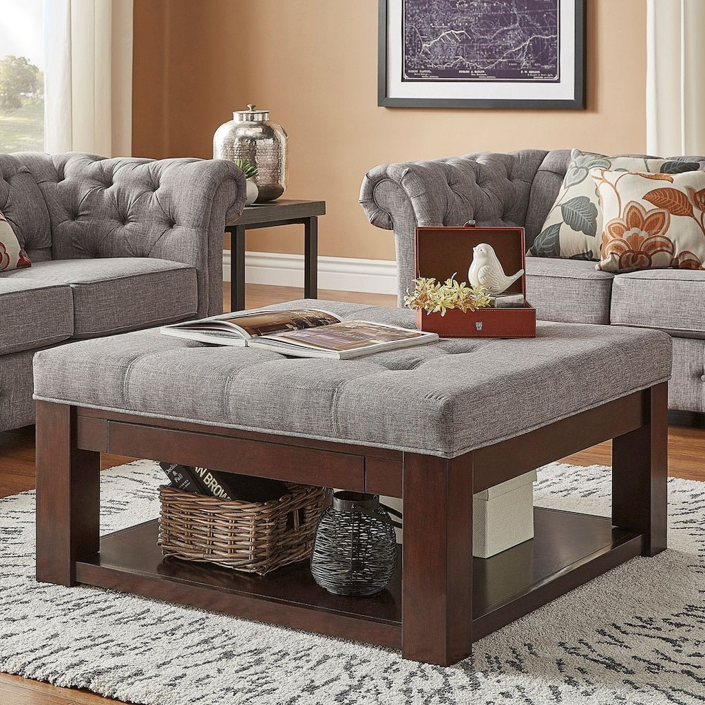 10++ Upholstered ottoman coffee table with storage ideas in 2021