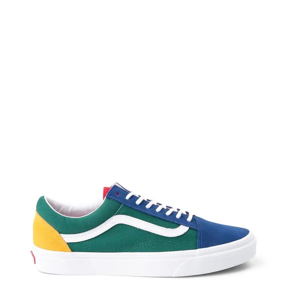 Vans Old Skool Skate Shoe - Blue
