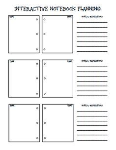 1000+ images about Interactive notebook on Pinterest