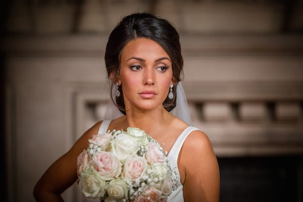 Michelle keegan is the star of our girl here 39 s everything for Michelle keegan wedding dress