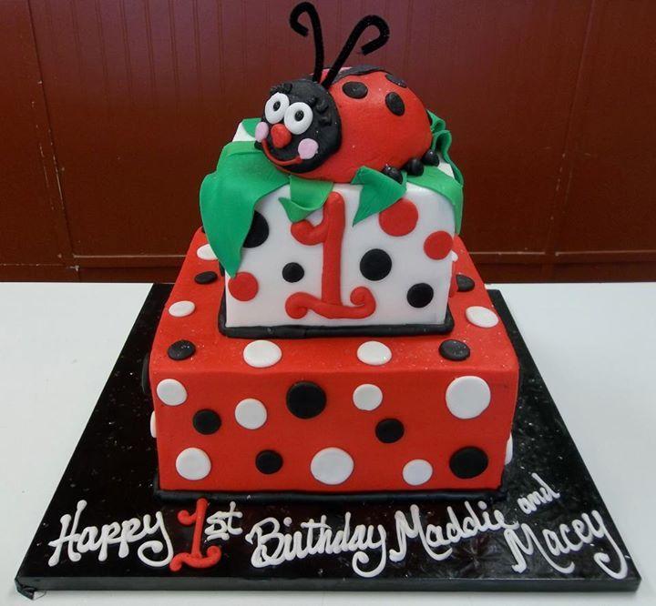 Lady Bug Cake Homestyle Bakery Nashville Tn Kids Birthday