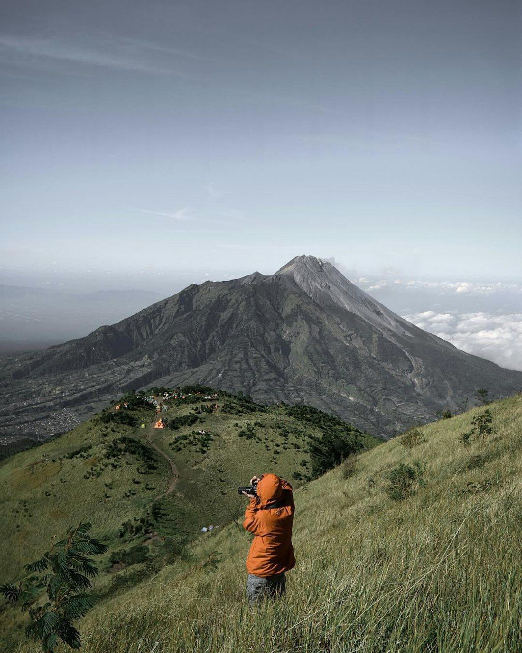 A hiking paradise in Central Java, Mount Merbabu,