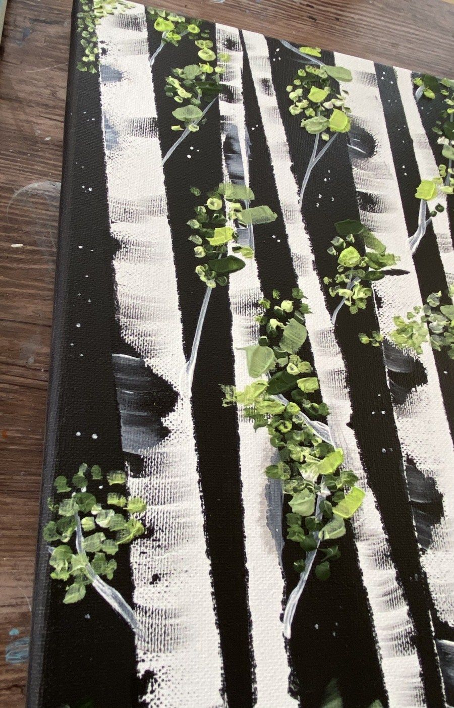 How To Paint Birch Trees - Easy Step By Step Paint