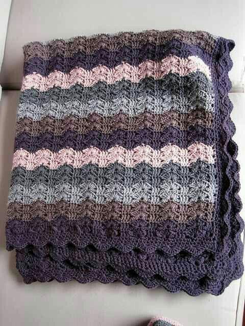 Pin de Ginny Gray en Crochet blankets | Pinterest | Manta ...
