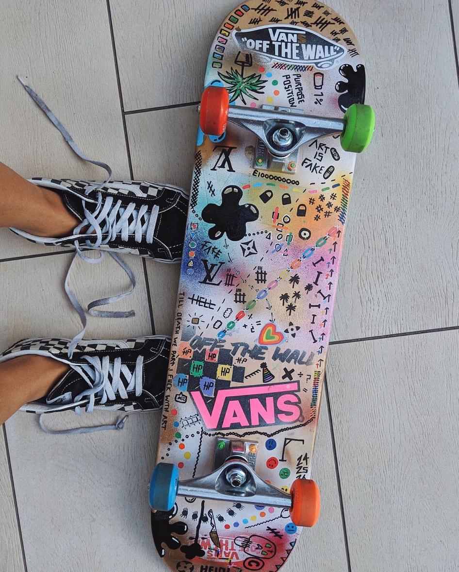skateboard vans complet