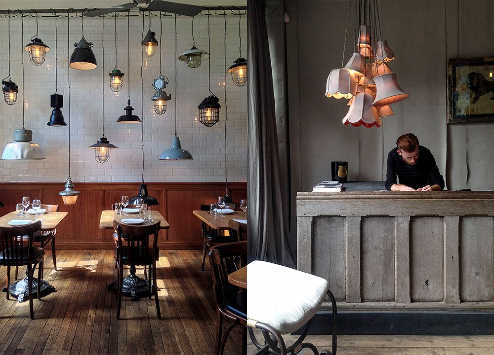 The Corner Cafe in the Town Hall Hotel - the atmospheric work of ...