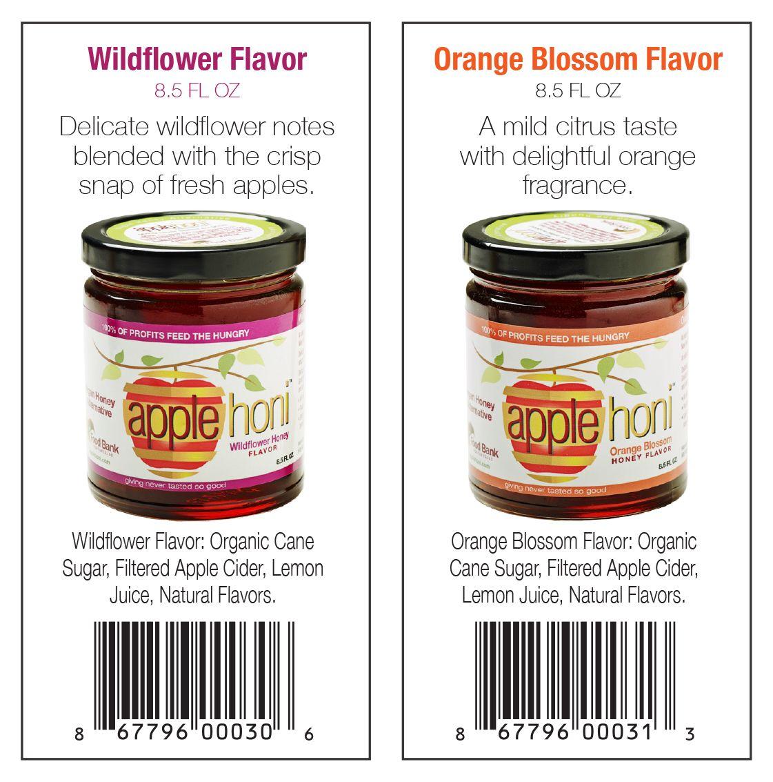 Applehoni Vegan Honey Alternative Wildflower Honey Flavor Ingredients Organic Cane Sugar Filtere Fruit Juice Concentrate Organic Sugar Natural Flavors
