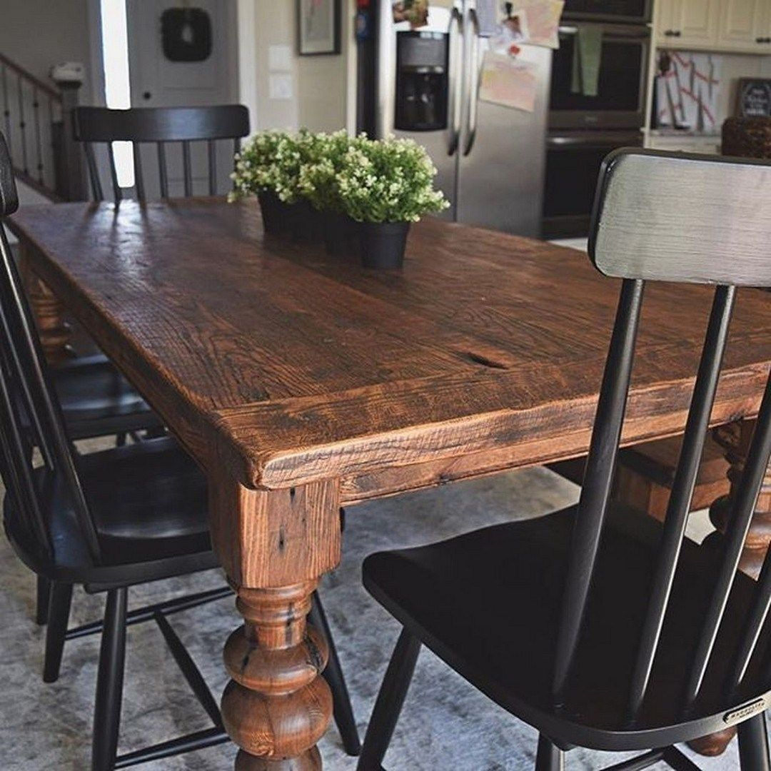 82 The Everly Large Farmhouse Dining Table Farmhouse Dining Room