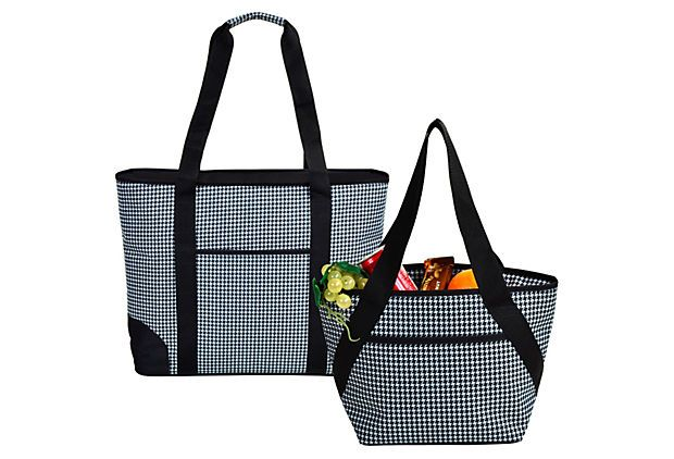 Large & Small Insulated Cooler Tote Set on OneKingsLane.com