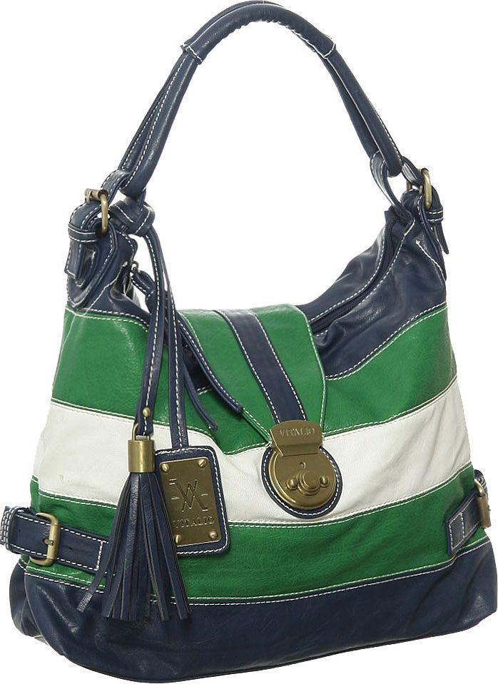 Purse Boutique Blue Green Large Vitalio Vera Zane Hobo Handbags Purses