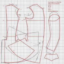 Afbeeldingsresultaat voor frock coat pattern