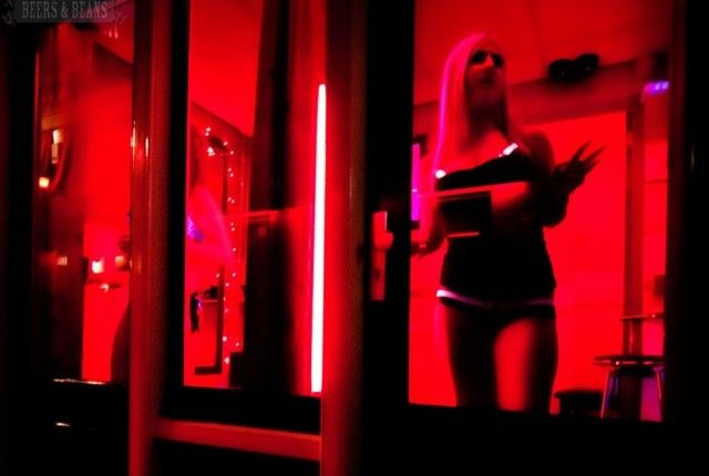 A Stroll Through The Red Light District Red Light District