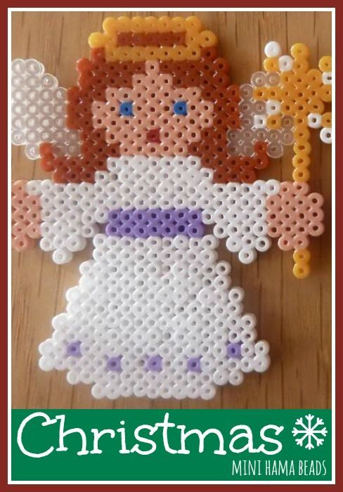 Christmas Mini Hama beads   Perler Patterns and Projects