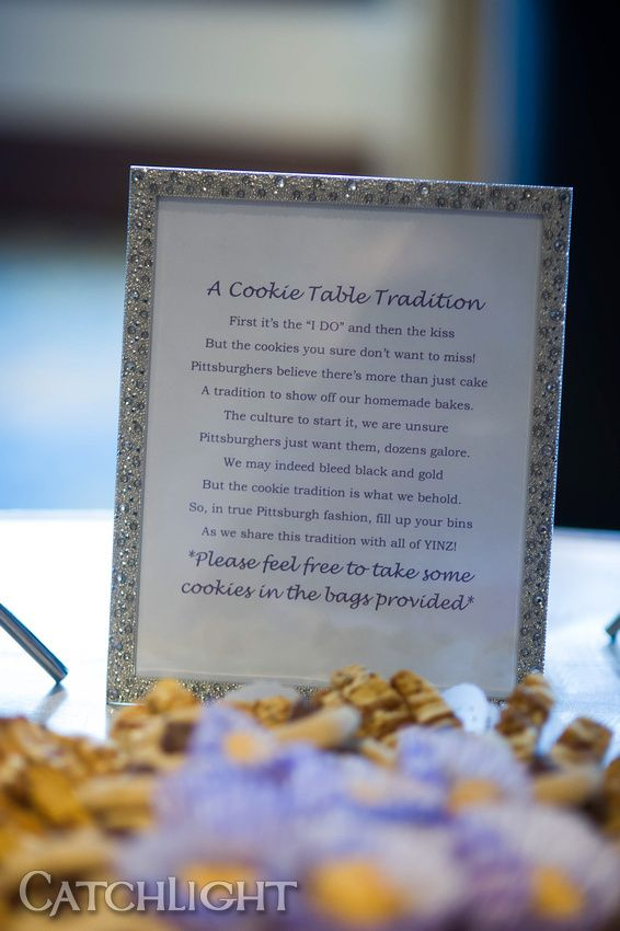 Pittsburgh Cookie Table Fairytale Pinterest Wedding