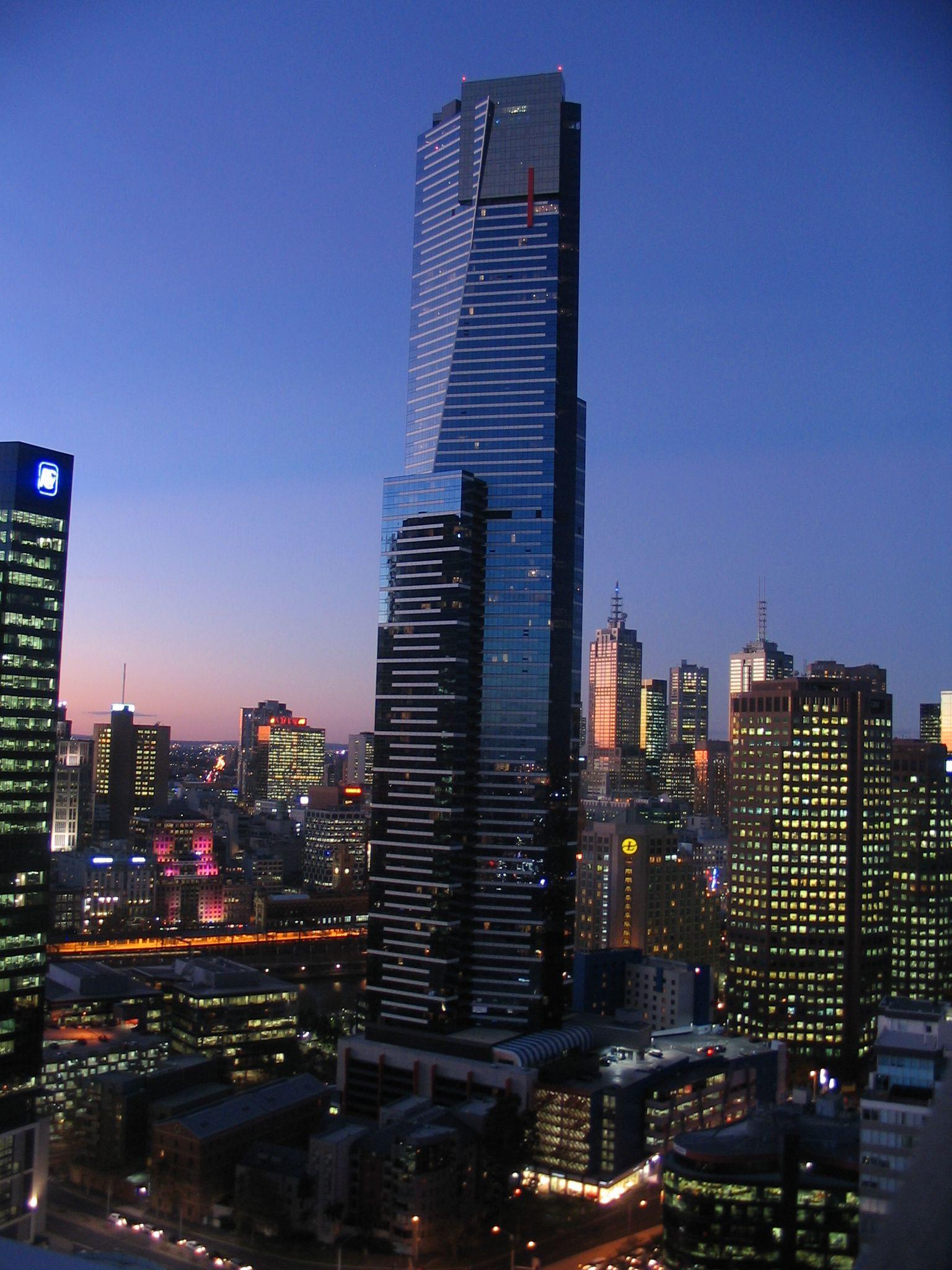 Resultado de imagen para Torre de estacionamiento Eureka, Melbourne, Australia;