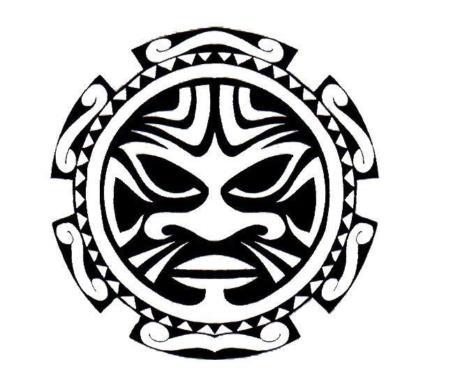 Polynesian sun design tattoos 4 flash pinterest for Polynesian sun tattoo