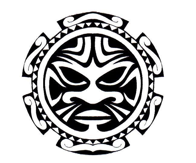 Maori Sun Tattoo: Polynesian Tattoo Designs