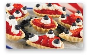 Berry Patriotic Tarts