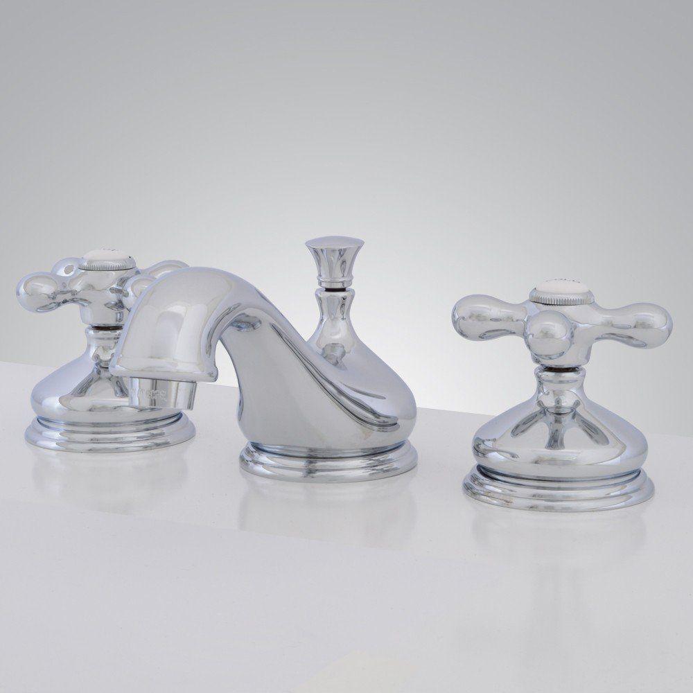 Teapot Widespread Bathroom Sink Faucet Metal Cross Handles Bathroom Sink Faucets Metal Cross Faucet [ 1000 x 1000 Pixel ]