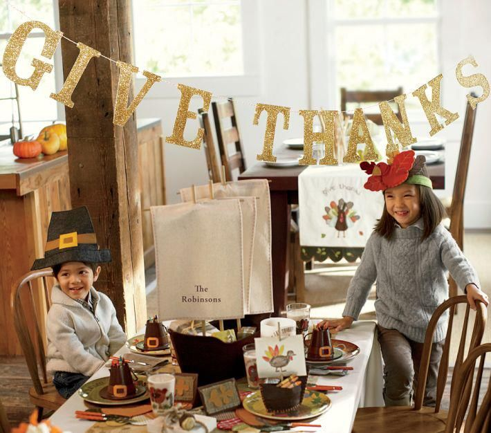 Thanksgiving Potterybarn Thanksgiving Banner