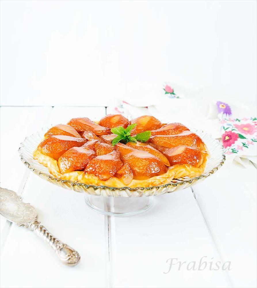 Tarta Tatin de Peras a la Vainilla. Receta fácil. - Un manjar para el paladar en pocos minutos.