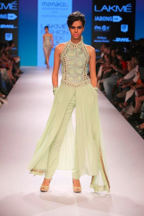 Lfw Winter Cream Palazzo Pants Dress Indian Wedding Outfits S Best Free Home Design Idea Inspiration