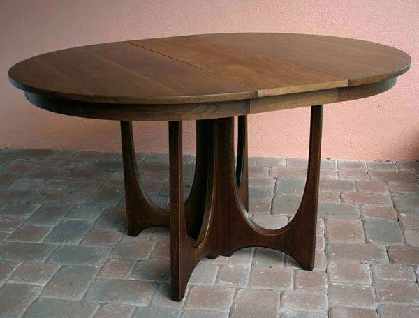broyhill brasilia round dining table mid century modern, Esstisch ideennn