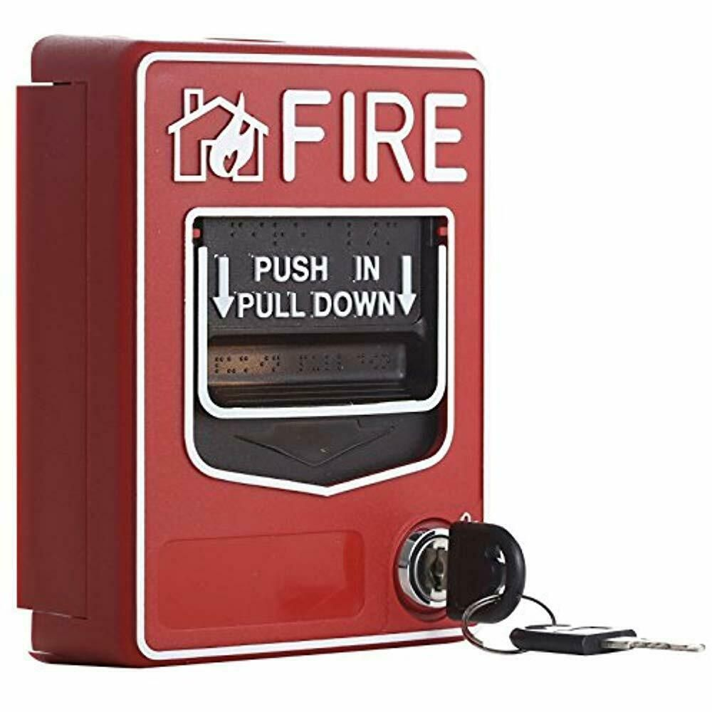 Sponsored Ebay Wired Home Security Systems 9 28vdc Conventional Manual Call Point Fire Reset In Home Security Systems Emergency Fire Fire Alarm