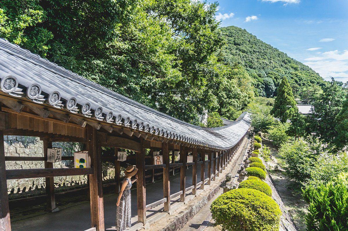 約400mも続く美しい回廊を持つ 桃太郎のルーツとなる神社 Triproud 美しい風景 岡山 観光 旅行参考イメージまとめ