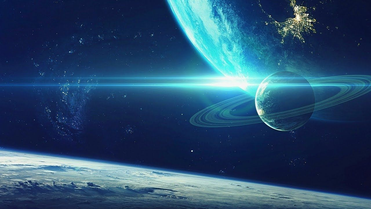 Space Ambient Music { Cosmic Melody } Background Music for